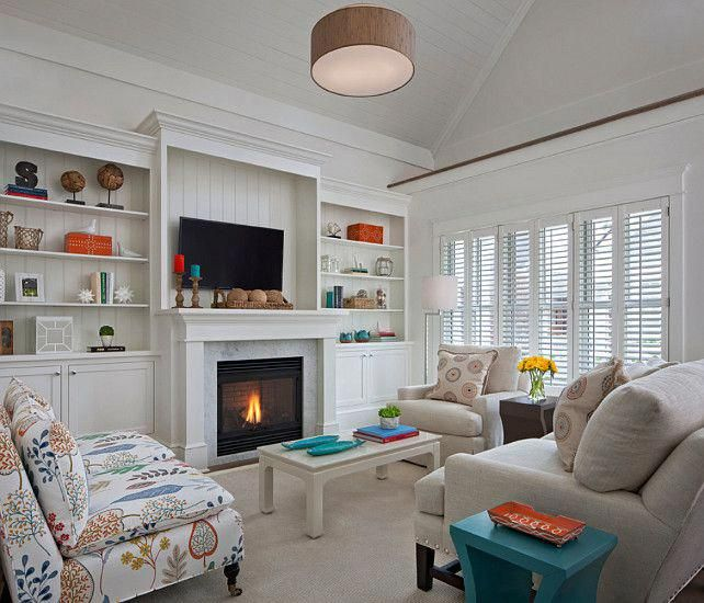 Living Room Coastal Living Room Design #LivingRoomDesign
