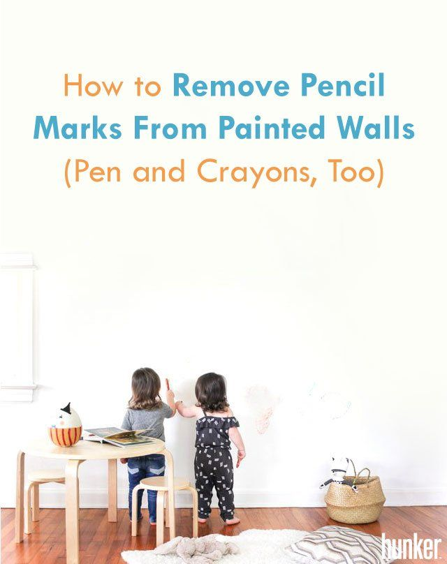 how to remove pencil marks from painted walls pen and crayons too
