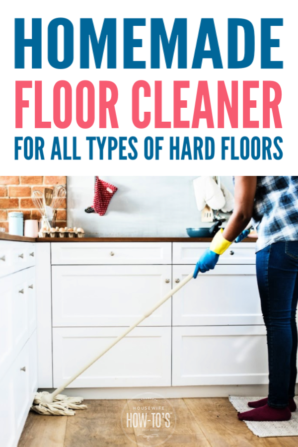Homemade Floor Cleaner Recipe Floor Cleaner Recipes