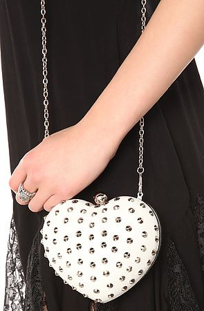 *MKL Accessories  The Love & Affection Crossbody Clutch in Cream   $14
