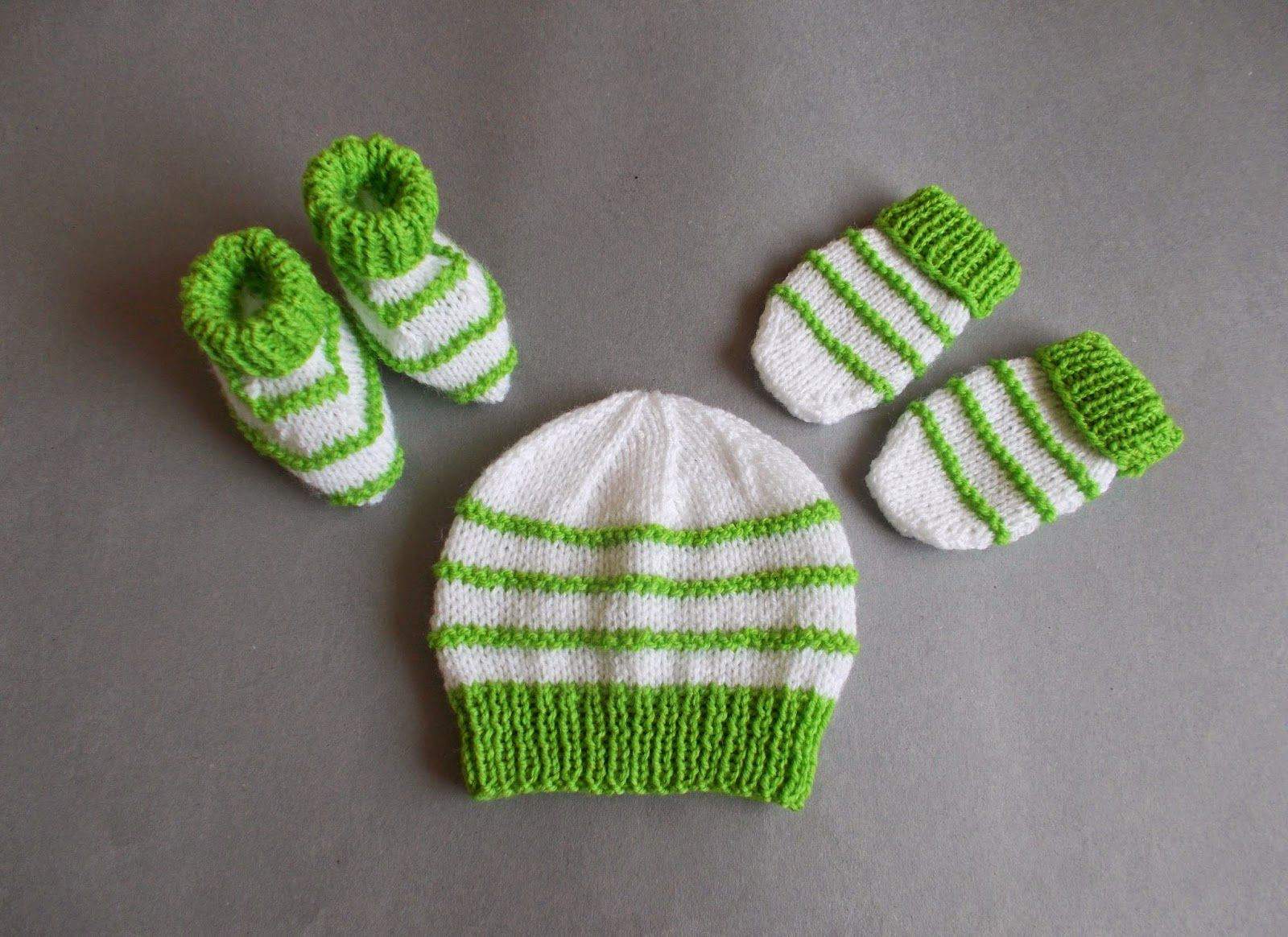 With stripes ..... endless possibilities ....... knitted baby girl ...