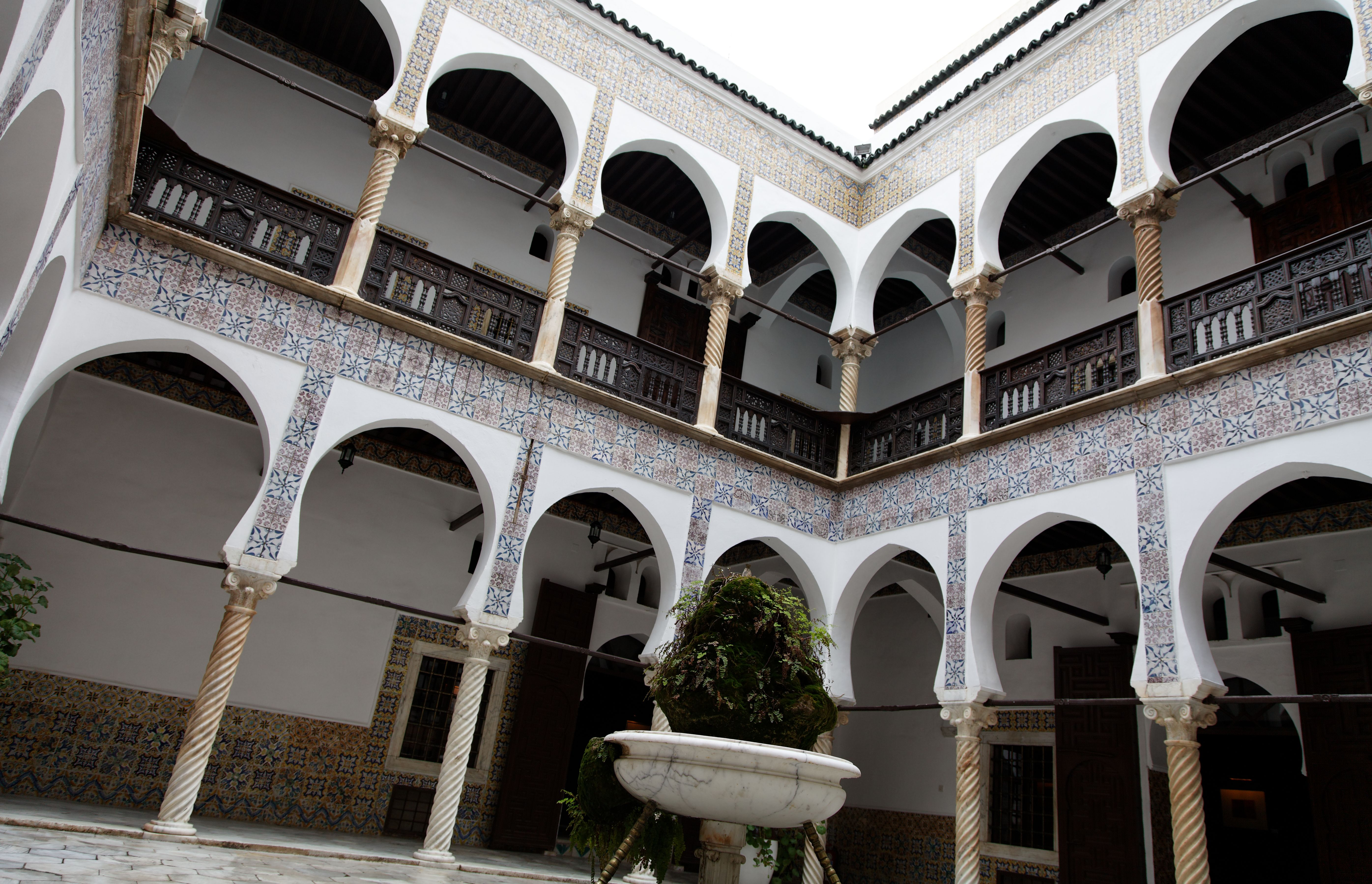 Decoration Facade Villa Algerie Inside The Casbah Of Algiers The Eight The Fire House Styles