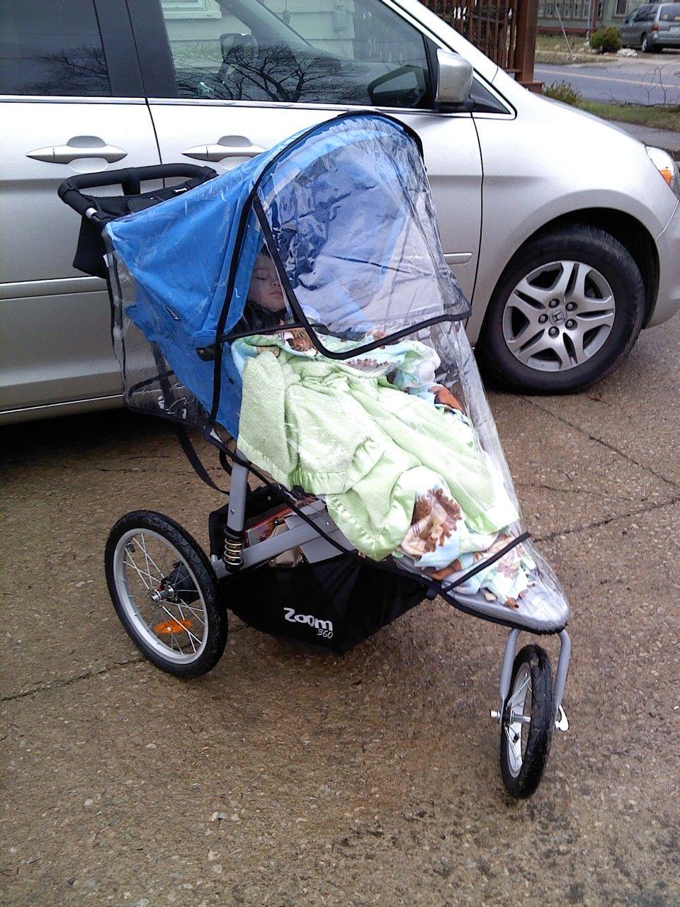 My jogging stroller is the best....it's a Joovy Zoom 360
