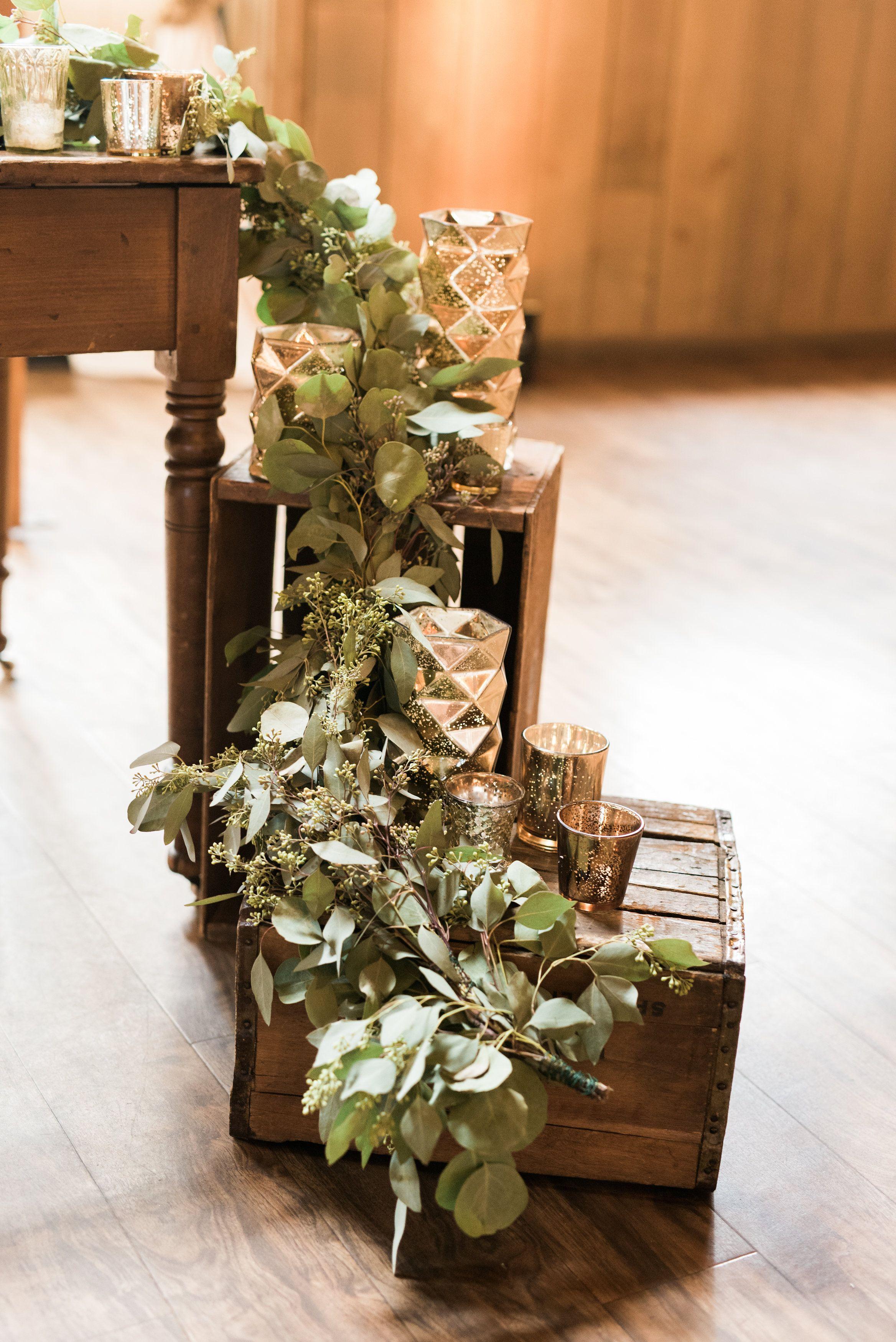 Wedding greenery - Wisconsin wedding barn | Wisconsin ...