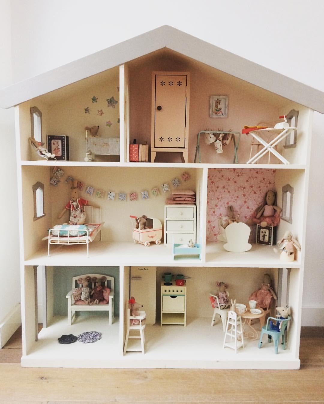 Baby Doll House Mini Doll House Play