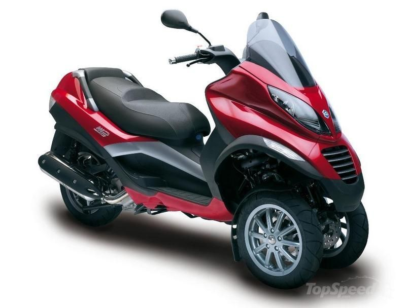 2012 Piaggio MP3 400   scooters   Trike motorcycle, 3 wheel