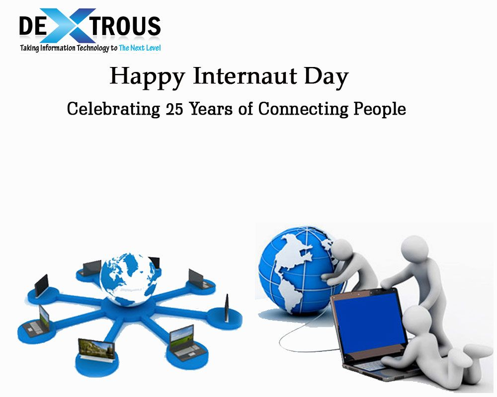 Happy Internaut Day Internaut From Inter Internet Naut From Greek Sailor The Web Opened Up To The W 25 Years Ago Today Information Technology 25 Years