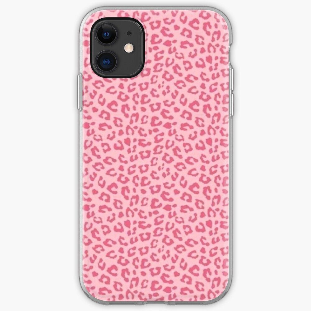Pink Cheetah Print iPhone Case & Cover