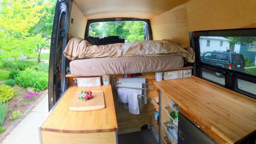 How to build a badass diy camper van vans van life and diy camper Diy caravan interior design ideas