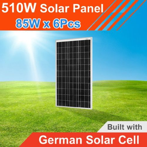 510Watt 12V Solar Panel Made with Germany Solar Cell @ Price of 500W