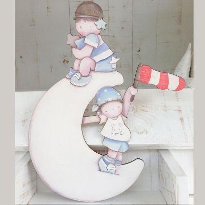 Siluetas madera infantil efecto pintado a mano piratas - Siluetas madera infantiles ...