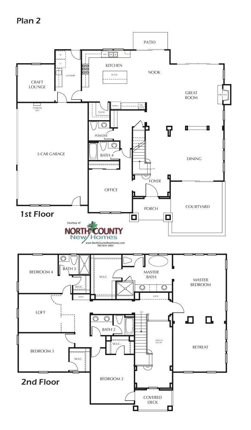 8 New Homes In Carlsbad New House Plans House Floor Plans