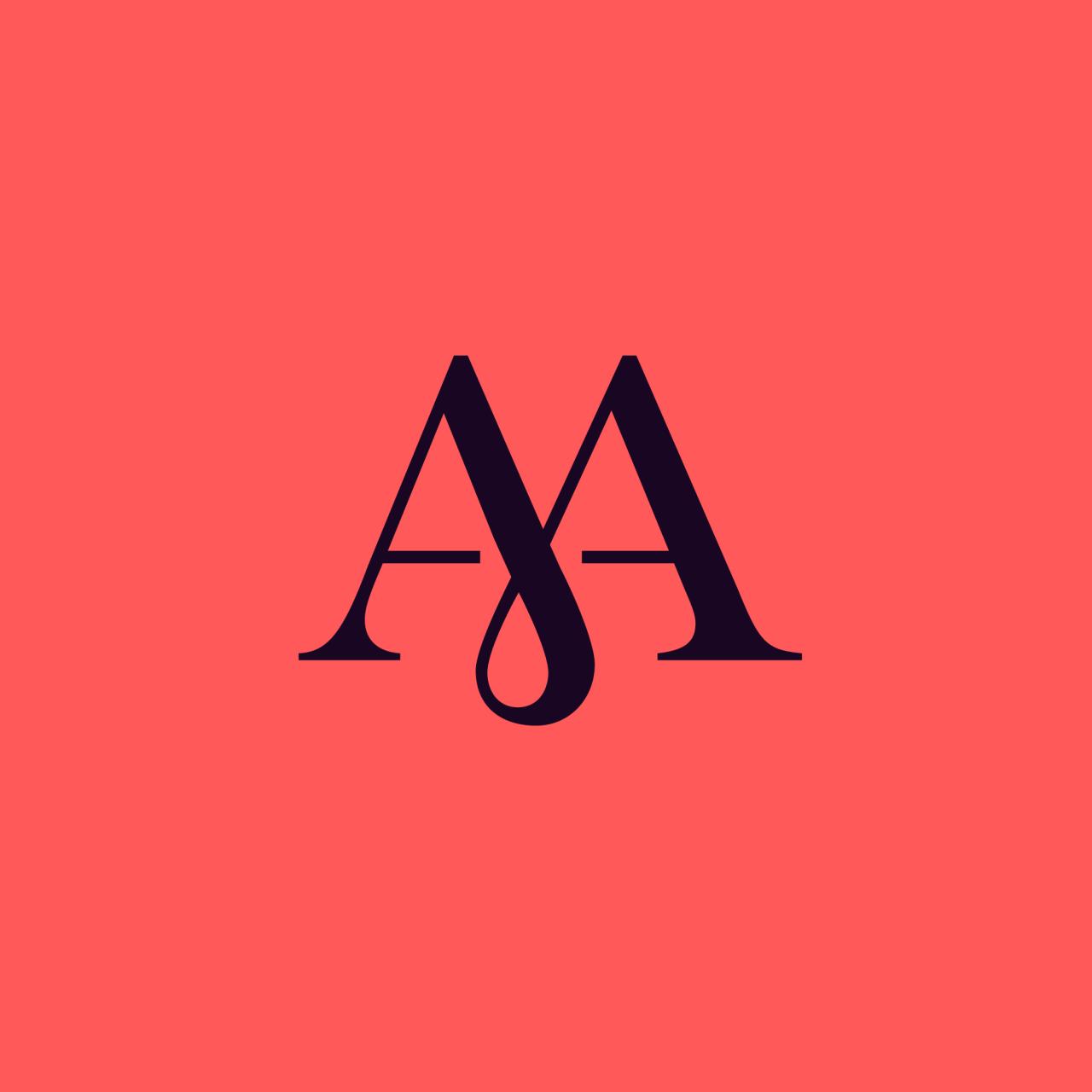 Barbara Bernat Photo Typography Logo Text Logo Design Initials Logo Design
