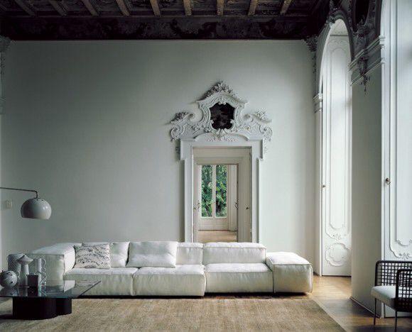 Extrasoft modulair sofa system piero lissoni
