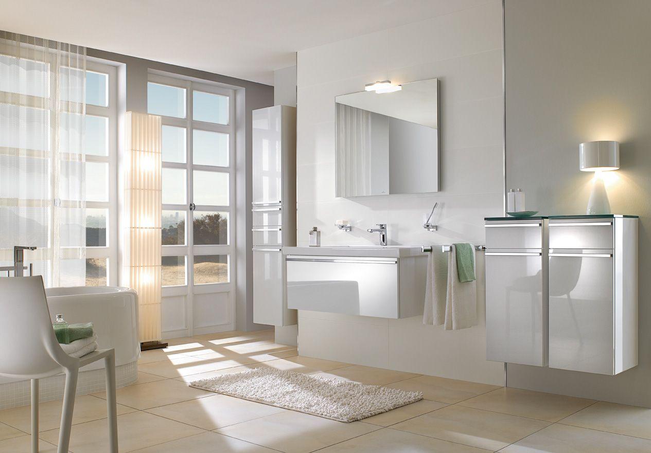 Moderne badkamer - Villeroy & Boch   Moderne badkamers   Pinterest ...