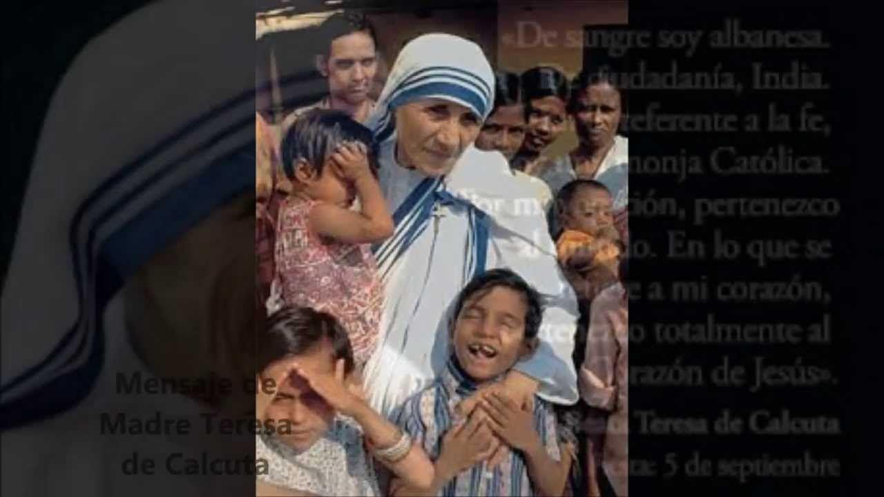 Biografia De Madre Teresa De Calcuta Con Imagenes Madre Teresa