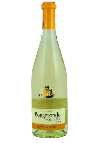 BONGERONDE 750ml Wino francuskie białe półsłodkie