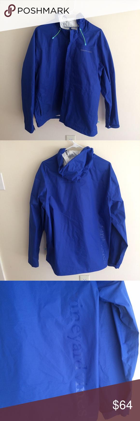 Menus vineyard vines beacon zip rain jacket rain jacket raincoat