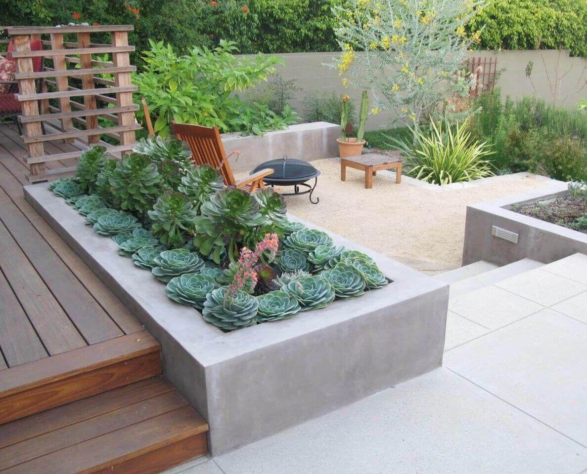 31 Gorgeous Built In Planter Box Ideas