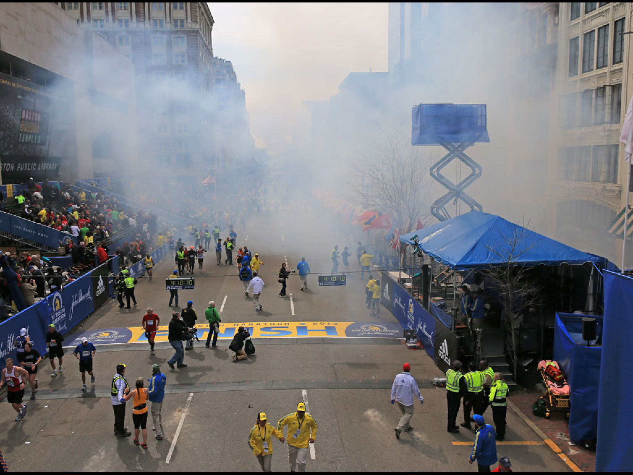 Lifting-Up ALL Involved in the Explosion: Victims/Family/Friends/First Responders/Hospitals (Dr. & Nurses), etc in Prayer!!!  Deadly Bombs Strike Boston Marathon:  http://www.cnn.com/2013/04/15/us/boston-marathon-explosions/index.html