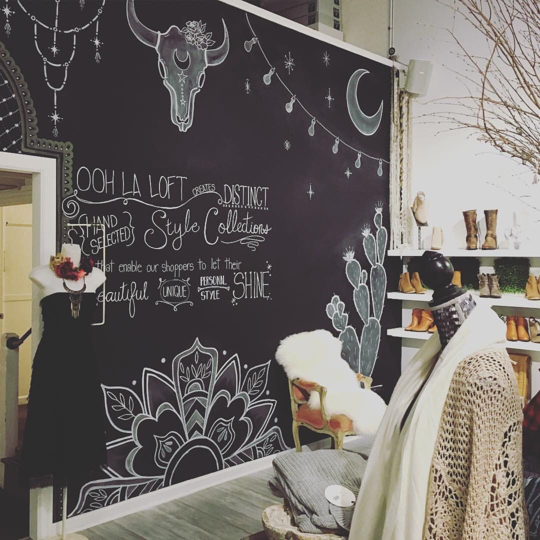 Home Design Ideas Blackboard: Window Design & Store Display In 2019
