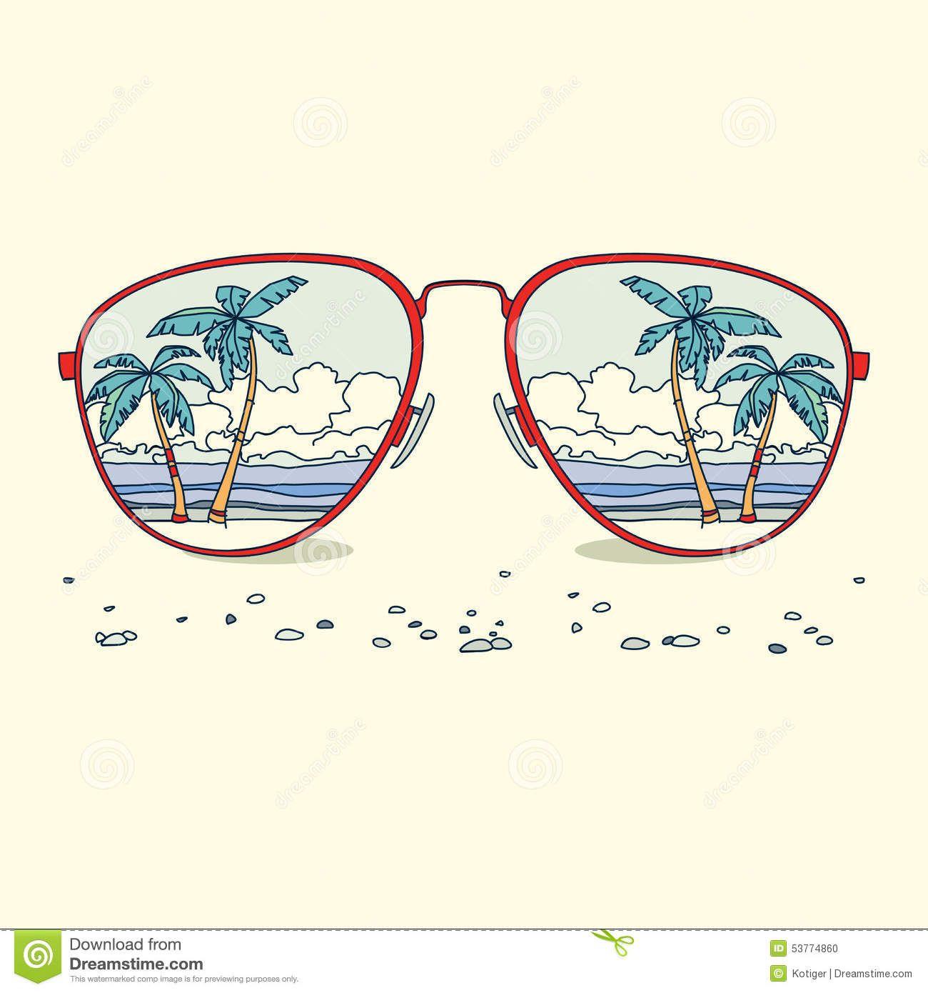 a913cc3a9e1c Reflection of the beach