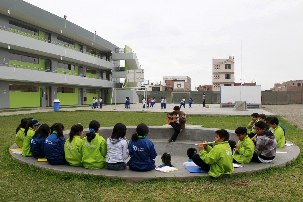 Innova Schools. Peru. The school built by world-class designers.