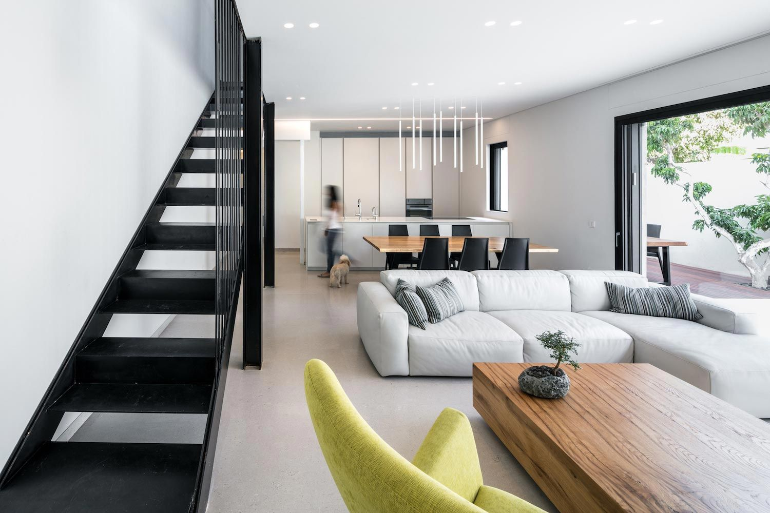 Modern Renovation Of A Single Story Semi Detached House From The 1950 S Caandesign Open Concept Kitchen Living Room Trendy Living Rooms Open Concept Kitchen