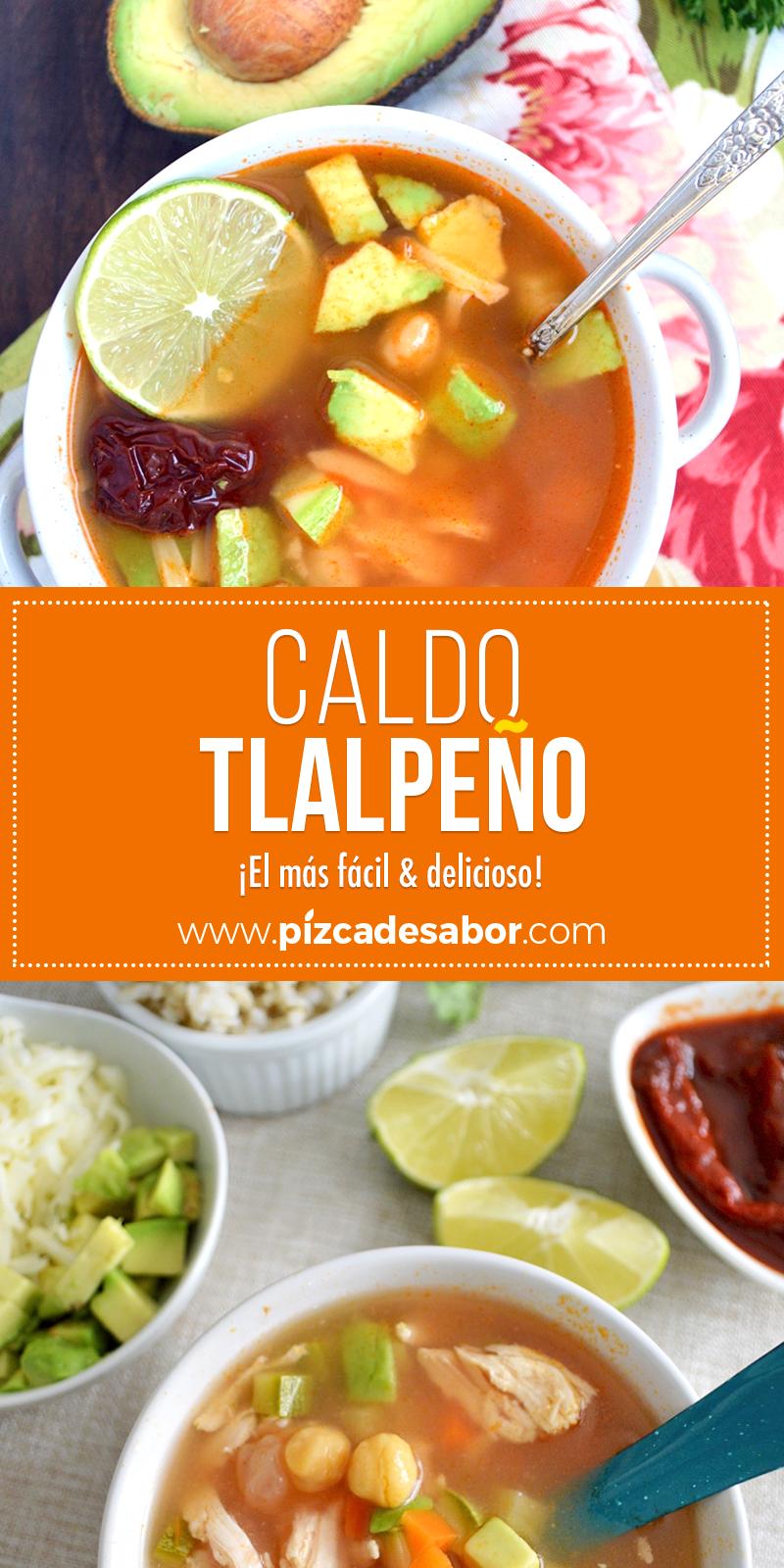 Cómo Hacer Caldo Tlalpeño El Más Fácil Delicioso Receta Caldo Tlalpeño Receta Recetas De Comida Mexicana Kiwilimon Recetas Comida