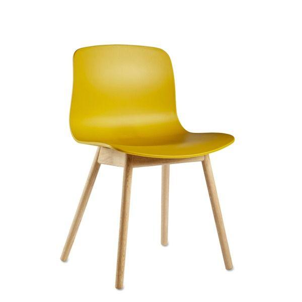 Großartig About A Chair AAC12 Mustard/Eiche Lackiert Hay Libelings Stuhl In Sonnengelb