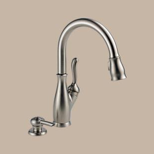 Leland Kitchen Single Handle Pull Down Faucet Faucet Kitchen Handle