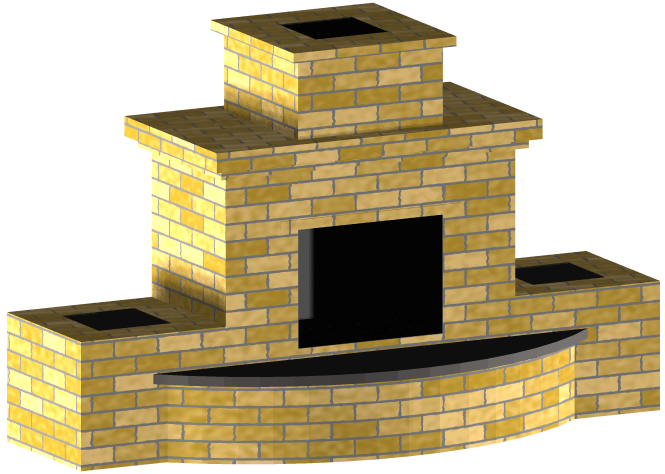 This Would Be A Great Outdoor Fireplace Estimated Building Cost