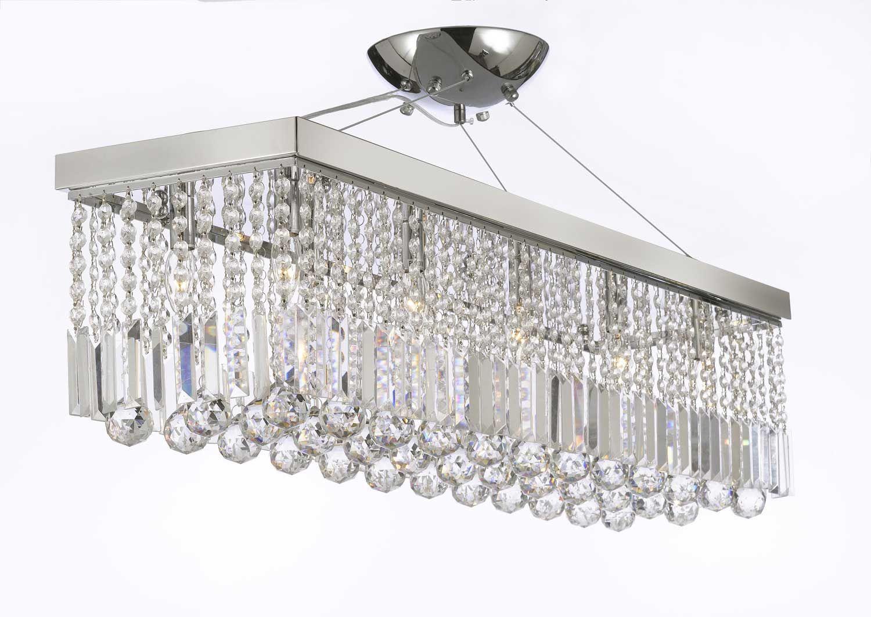 G902 112010 gallery modern contemporary chandelier light w g902 112010 gallery modern contemporary chandelier light w crystal modern rain drop chandeliers linear pendant aloadofball Images