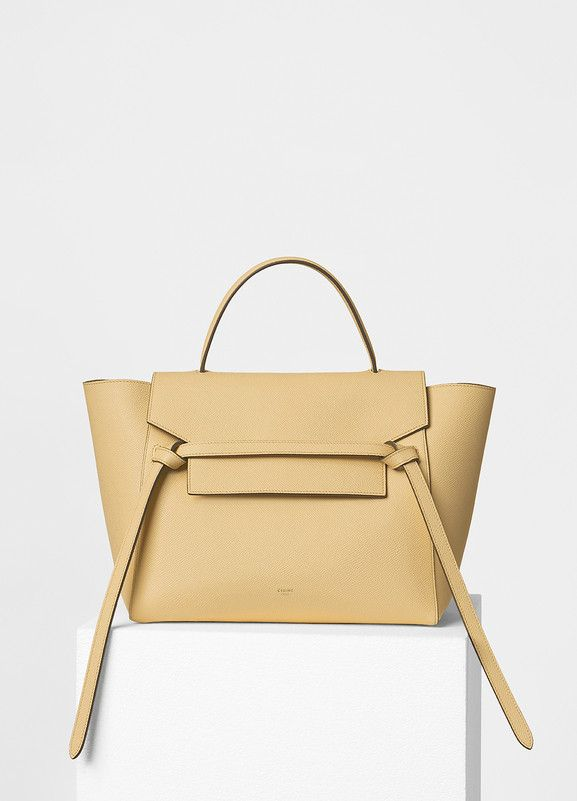 Bag · Mini Belt Handbag in Grained Calfskin - Céline 7ecca09d02aa3