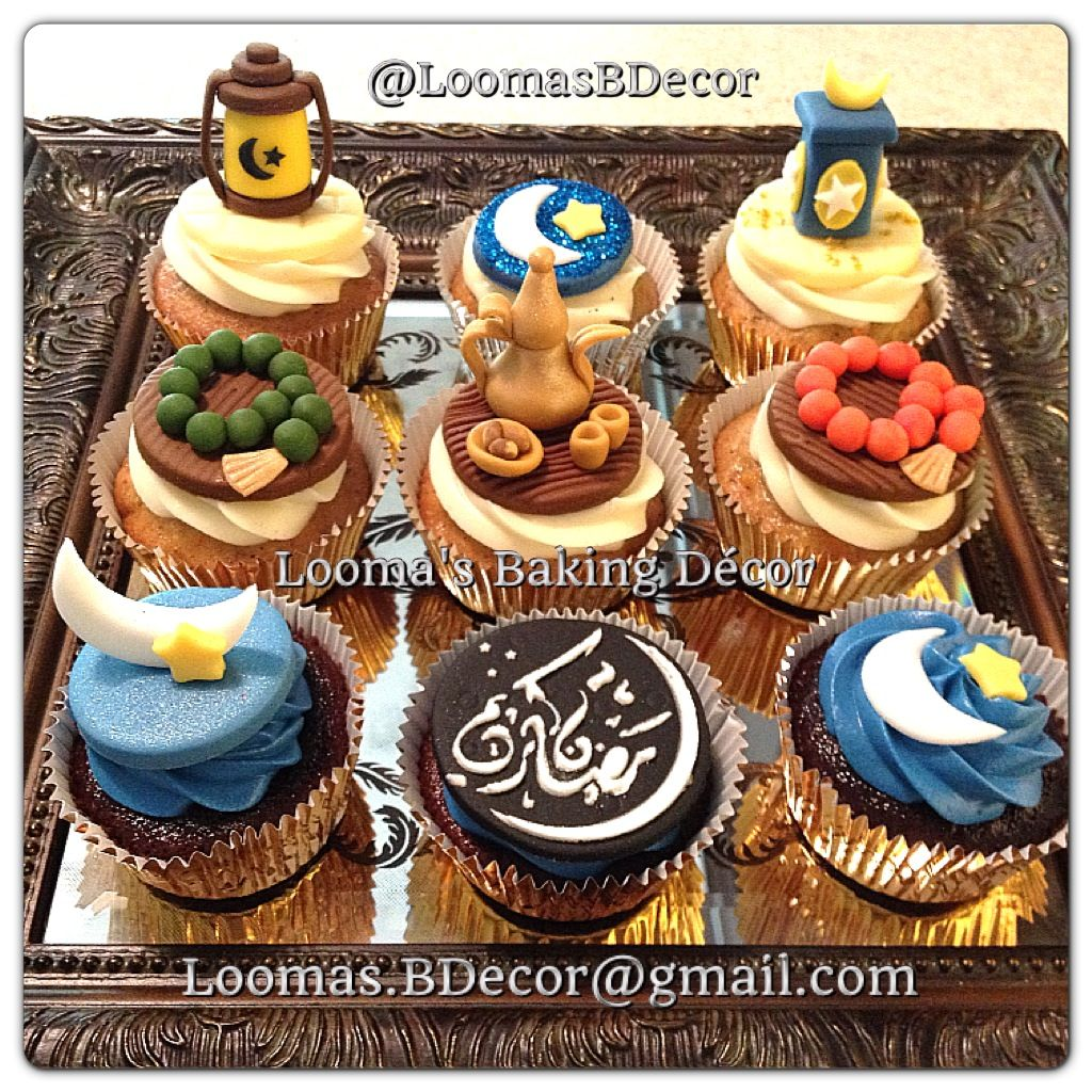 ramadan cupcakes collection 2013 ramadan cakes cupcakes pinterest. Black Bedroom Furniture Sets. Home Design Ideas
