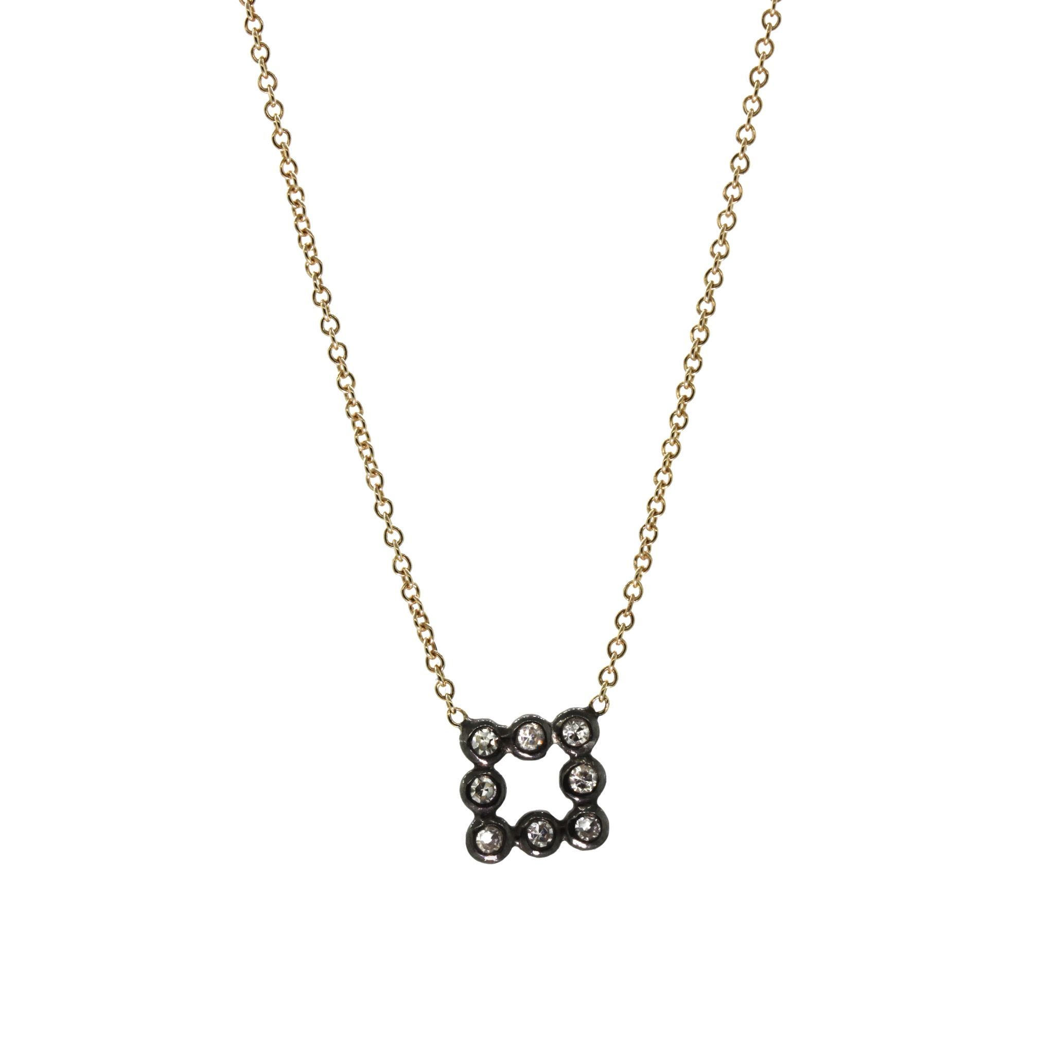 Square bezel necklace products pinterest squares and products