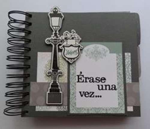 b75397b63252 Regalos bodas de papel: fotos ideas - Precioso mini album regalo de ...
