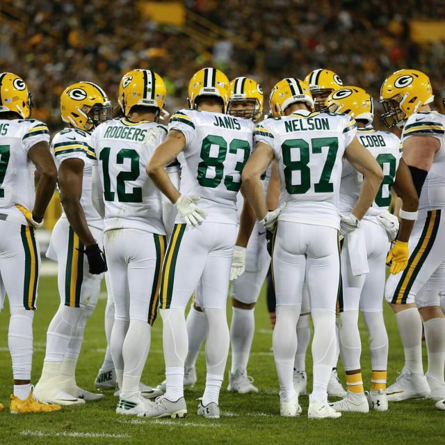 Packers All White Color Rush Uniform Color Rush Uniforms Jordy Nelson Color Rush