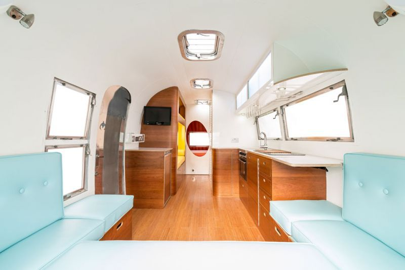 American Retro Caravans A Refresh On Vintage Airstream