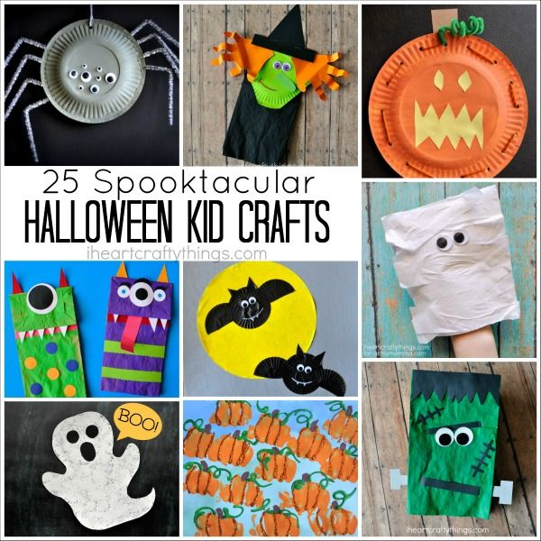 25 Spooktacular Halloween Kid Crafts Kids Pinterest Halloween - halloween kids craft ideas