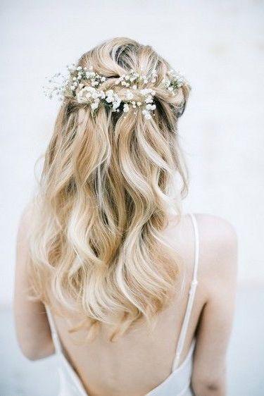 10+ Brautfrisuren Halboffen Geflochten Ideen