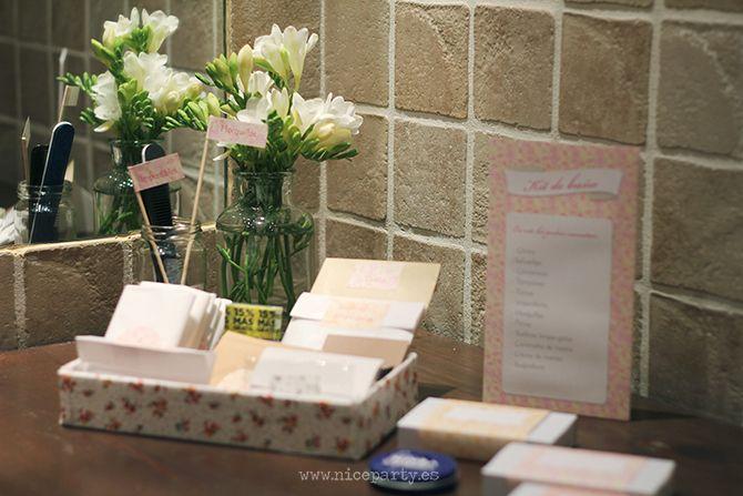 Nice party boda kit de ba o para bodas weddings - Kit bano boda ...