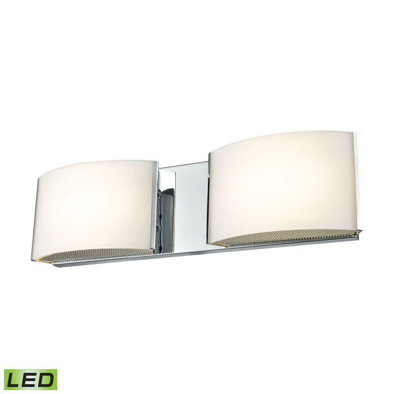 Alico BVL Integrated LED ADA Compliant Vanity Light With Opal - 10 light bathroom fixture