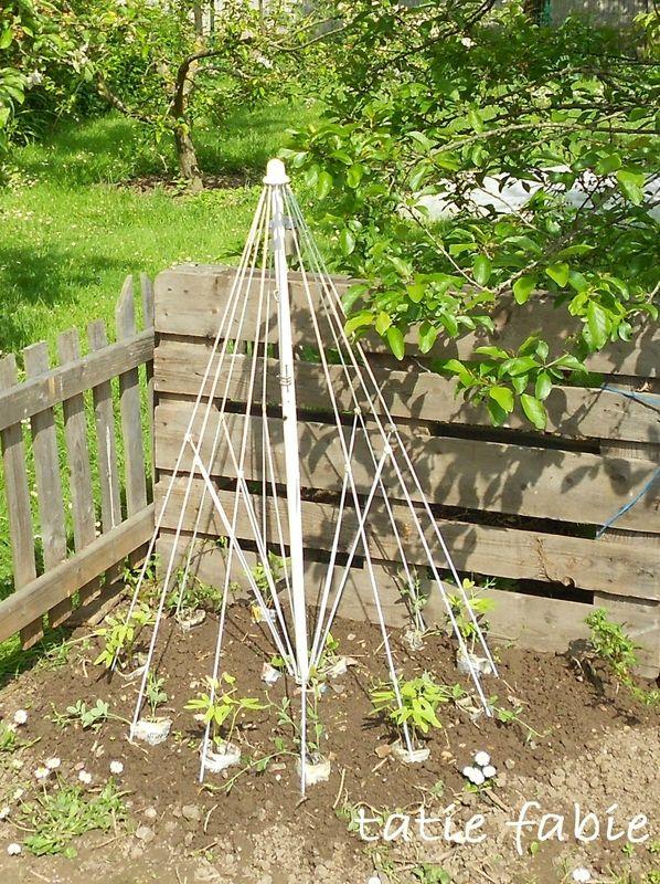 treillage pour plantes grimpantes - La récup dans tous ses états ...
