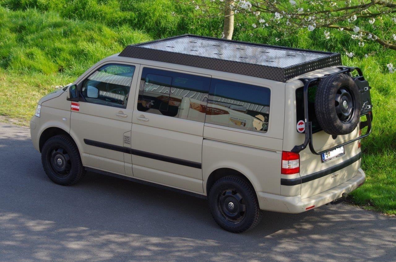dachgep cktr ger passend f r volkswagen transporter t5 t6. Black Bedroom Furniture Sets. Home Design Ideas