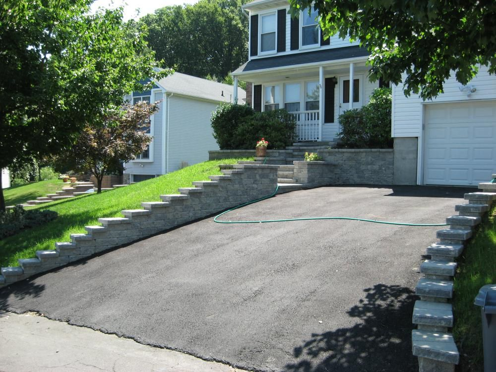 Retaining Wall Steps Ideas