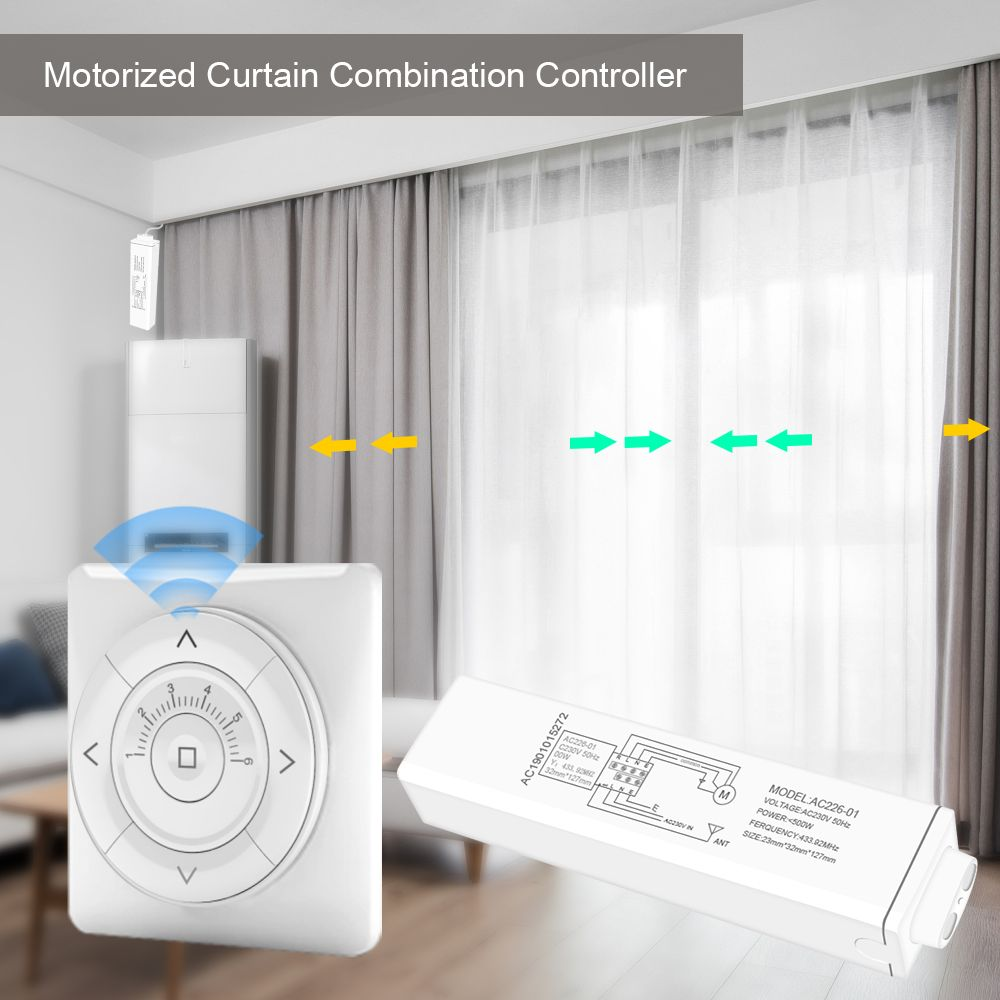 Moticslink Smart Home Automation Smart Home Automation Home Automation Motorized Curtain