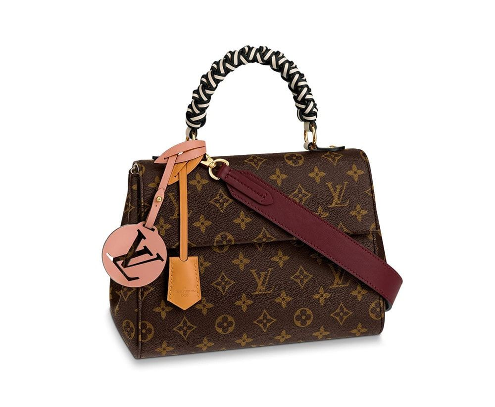 61c1512d952 Louis-Vuitton-Cluny-BB-Bag-Braided-Handle-Monogram | Bags in 2019 ...