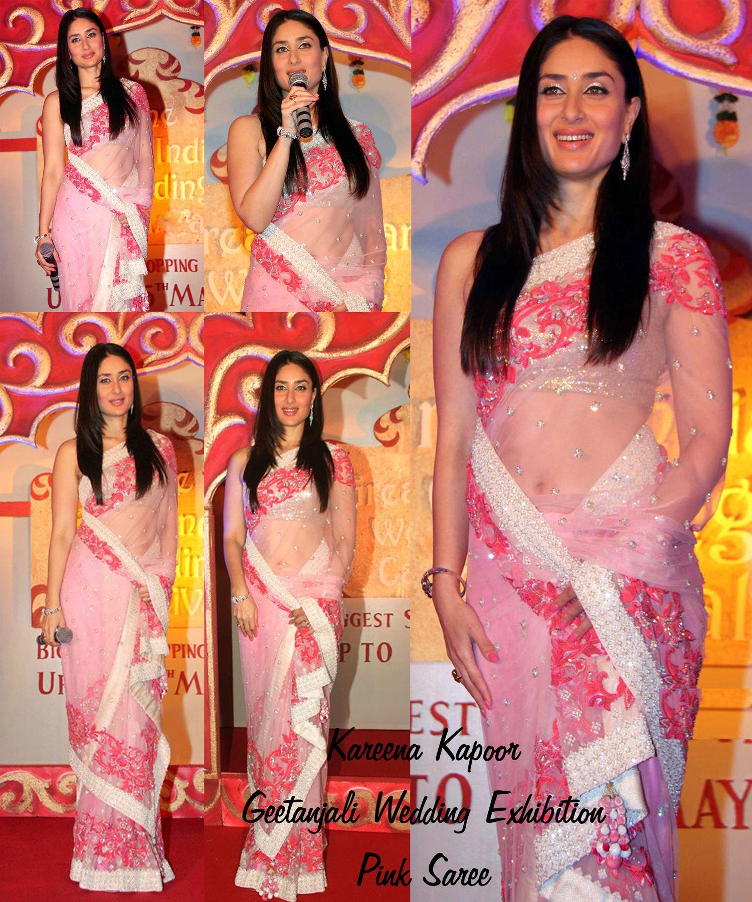 Same Saree as Kareena Kapoor Worn Fabric : Baby Pink Net Nice ...
