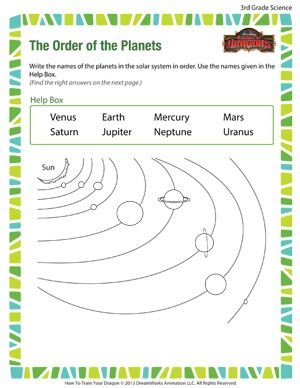 Free 3rd Grade Science Worksheet | School Ideas | Pinterest ...